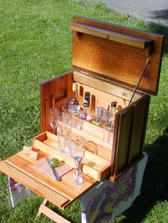 Wonderful Portable Liquor Bar By LDesignReclaimed On Etsy