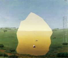 Rene Magritte Paintings   Rene Magritte - the kiss More Pins Like This At : FOSTERGINGER @ Pinterest.