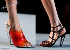 Givenchy, Saint Laurent, Giuseppe Zanotti,  Balmain - 2014 Men Women Online Shoes Spent Dollars: FENDI Shoes 2014 Spring Summer Women's Collection