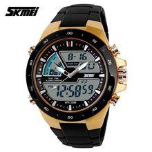 Relógios Esportivos Masculinos SKMEI, Relógio para Mergulho 5PA, Relógio Digital Fashion Estilo Militar, Relógio de Pulso Multifuncional, relogio masculino(China (Mainland))