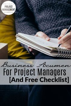 Business Acumen for Project Managers.