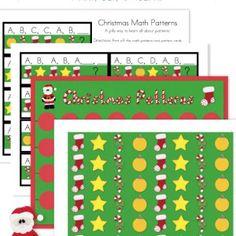 Cute Christmas Math Patterns!