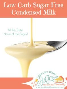 I use two sweeteners in this recipe for low carb sugar-free condensed milk. In fact, I use more than one sweetener in most of my low carb sugar free recipes. The reason for this is it enhances the sweetness and provides greater depth and balance. Sugar Free Desserts, Sugar Free Recipes, Milk Recipes, Low Carb Desserts, Low Carb Recipes, Diabetic Desserts, Sugar Free Condensed Milk Recipe, Sugar Free Milk, Low Carb Sauces