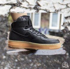 Nike Women Air Force Schwarz