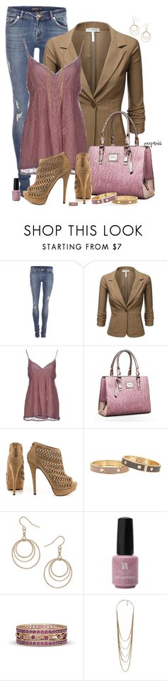 """""""Peep toe ankle booties"""" by exxpress ❤ liked on Polyvore featuring SuperTrash, J.TOMSON, PINK MEMORIES, Calvin Klein, ALDO, Wallis, Red Carpet Manicure, Gemvara, Forever 21 and blazer"""