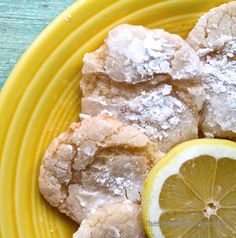 Pardon our acronyms, but OMFG. These Lemon Crinkle Cookies are beyond divine, like a cross between a classic crinkle and a lemon bar!