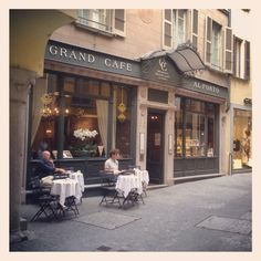 Lugano, Grand Café Al Porto in via Pessina Franklin College, Lugano, Cool, Wonderful Places, Fingers, Switzerland, Places Ive Been, Paths, My House