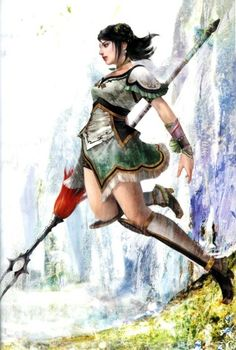 Xing Cai from Dynasty Warriors 5, my new fave character.