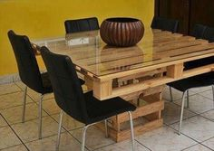 Pallet Dining table plans.