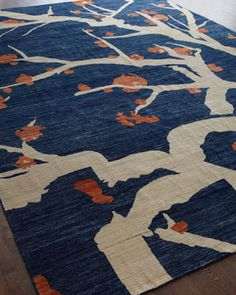 """""""Branches"""" Rug at Horchow."""