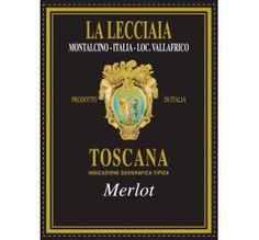 La Lecciaia Merlot 2009 A wine with an interesting depth of fruit to it with blueberries and cherries and something almost tropical in nature. Full and silky textured with chocolate, dried fruits and wood spice. Decadent. Drink now or hold. #tuscany #asapvino #italianwine