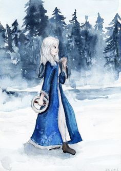 Meira from Snow Like Ashes by HaleyGottardo on DeviantArt