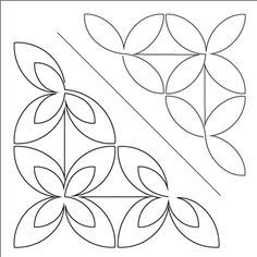 Retro Revolution and - Triangle Blocks - Stencil Quilting Stencils, Stencil Patterns, Longarm Quilting, Stencil Designs, Free Motion Quilting, Hand Quilting, Quilt Patterns, Quilt Corners, Machine Quilting Designs