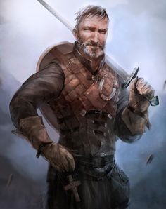 The Revelator, Battle Master character art commission by Marina Krivenko