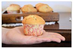 banana and chocolate chip muffins #muffin