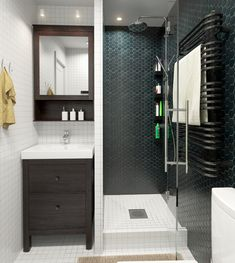 The Small Yellow 45 sqm Apartment   Bathroom