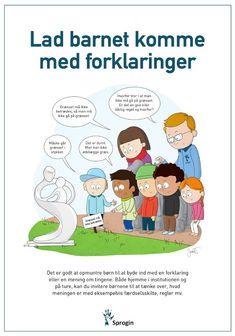 LadBarnetKommeMedForkloaringer2 Blooms Taxonomy, Cooperative Learning, Raising Kids, Art Music, Classroom Management, Kids And Parenting, Kindergarten, Homeschool, Family Guy