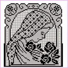 Hobby lavori femminili - ricamo - uncinetto - maglia: madonna filet