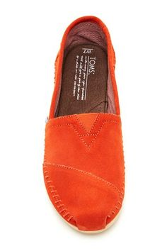 TOMS Suede Moccasin Shoe