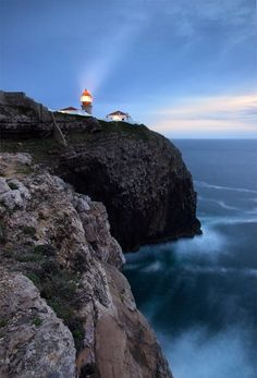 Sagres Lighthouse by Stephen Emerson, via 500px.  The most southwestern tip of Eurpoe - the end of the world