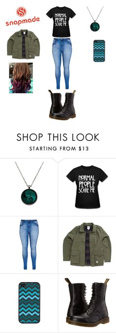 """Snap made"" by bvblover65 ❤ liked on Polyvore featuring City Chic, Vans and Dr. Martens"