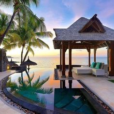 What an amazing place! #mauritius #luxuryvacations @chinmoylad