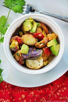 Avocado Pico de Gallo Potato Salad | FamilyFreshCooking.com