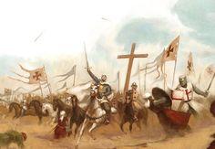 Baudouin IV était accompagné par les reliques de la Vraie-Croix. Jusqu'à la bataille de Hattin toutes les batailles faites avec la Sainte-Croix ont été gagnées.