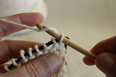 Knooking | Knitting with your Crochet Hook