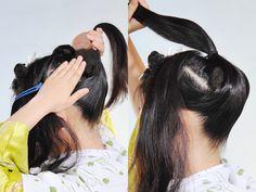 着物の髪型・ヘアスタイル '11 新日本髪の結い方 京染卸商業組合