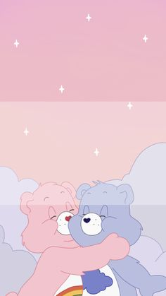아이폰 케어베어 배경화면 : 네이버 블로그 Iphone Wallpaper Vsco, Cartoon Wallpaper Iphone, Disney Phone Wallpaper, Iphone Background Wallpaper, Cute Cartoon Wallpapers, Pretty Wallpapers, Aesthetic Iphone Wallpaper, Aesthetic Wallpapers, Purple Wallpaper Iphone
