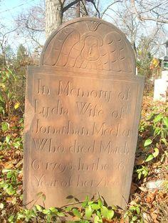 Lydia Meeker 1795 Northfield Baptist Cemetery, Livingston, NJ