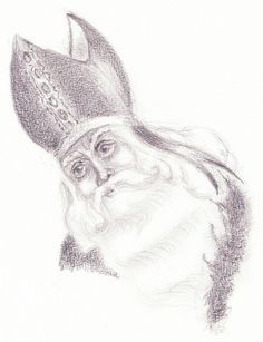 Drawing Sinterklaas, Vervlogen Dagen, A Crafter's Journal
