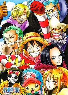 One Piece, Straw hat pirates One Piece Crew, Zoro One Piece, One Piece 1, One Piece Images, One Piece Anime, One Piece Wallpaper Iphone, Chibi Wallpaper, The Pirates, One Piece Series