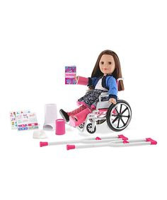 Look at this Urgent Care Set for 18'' Doll on #zulily today!