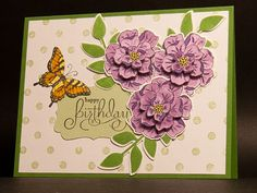 Birthday Garden by AbbysGrammy - Cards and Paper Crafts at Splitcoaststampers