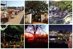 30 Places to Eat and Drink on a Patio This Fall  Combining two of my favorite things...patios and Austin!