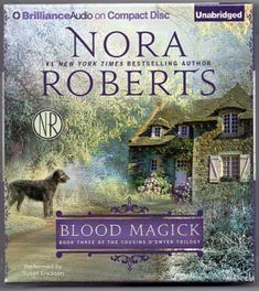 BLOOD MAGICK NEW Unabridged  10 CD NORA ROBERTS Book 3 Cousins O'Dwyer Trilogy
