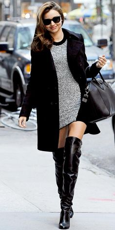 miranda kerr. Boots! Winter needs are met