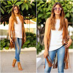 Get this look: http://lb.nu/look/7735842  More looks by Marianela Yanes: http://lb.nu/marilynscloset  #bohemian #chic #retro http://marilynsclosetblog.blogspot.com.es/2015/09/fringes-vest.html #lookoftheday #marilynscloset #fashionblogger