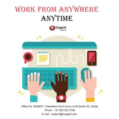 Work From Anywhere Anytime.....................................  #BcogentSolutions #WorkCulture #coworkingspace #business #businessidea #coworking #WorkSpace #sharedspace #smallbusinesses #workplacelove #homeoffice #remoteoffice #remotework #work #startupnoida #startupspace #coworker #coworkinglife #coworkingspaceindia #coworkingoffice #Amenities #iThumTower