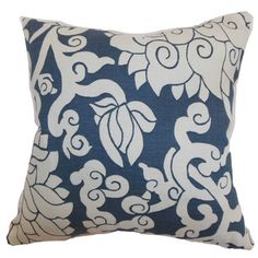 Erdenet Floral Throw Pillow