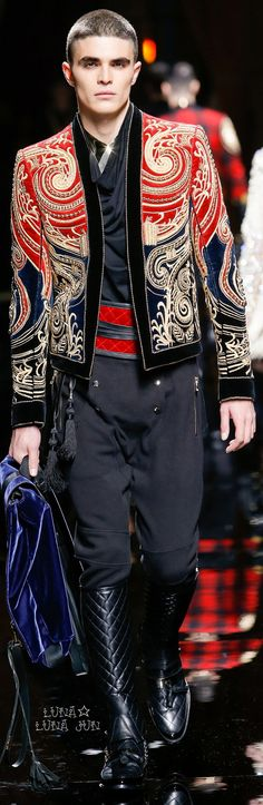 Balmain Fall 2016 Menswear dear fucking god give it to me now