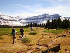 Kings Peak - The highest point in Utah 13,538 ft. - love this backpacking trip!
