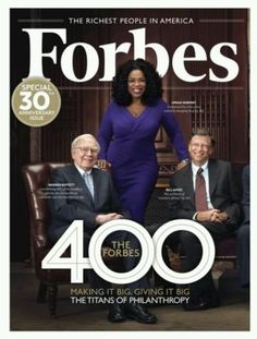 Three media moguls!! By the way one is a woman. Also, I forgot she black. The Oprah effect is still alive and well. These three individuals have influence media and they have powerful voices that others follow. If Oprah likes it millions of people will buy it. If microsoft introduces something new it becomes the standard. This image illustrates that the glass ceiling can be broken and popularity can be maintained honestly.