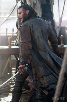 Photo gallery featuring images from the show for Black Sails, a STARZ Original Series.