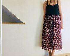 Diy Jupe, Harem Pants, Midi Skirt, Sewing Patterns, Skirts, Inspiration, Crochet, Blog, Fashion