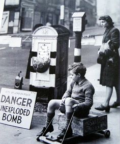 Dangerous, and exciting to a young lad in 1940