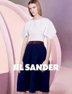 Jil Sander SS13 Campaign #fashion