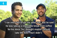 5 Times Hunter Hayes Couldn't Hide His Coffee Addiction CLICK THE LINK THIS IS SO GREAT!!!!